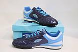 Футбольные кроссовки-копочки (бутсы,сороконожки) мужские,синие, фото 3
