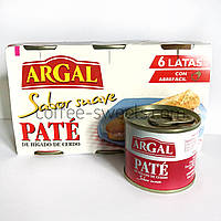 Паштет із свинячий Argal Sabor suave Pate 6*83 g