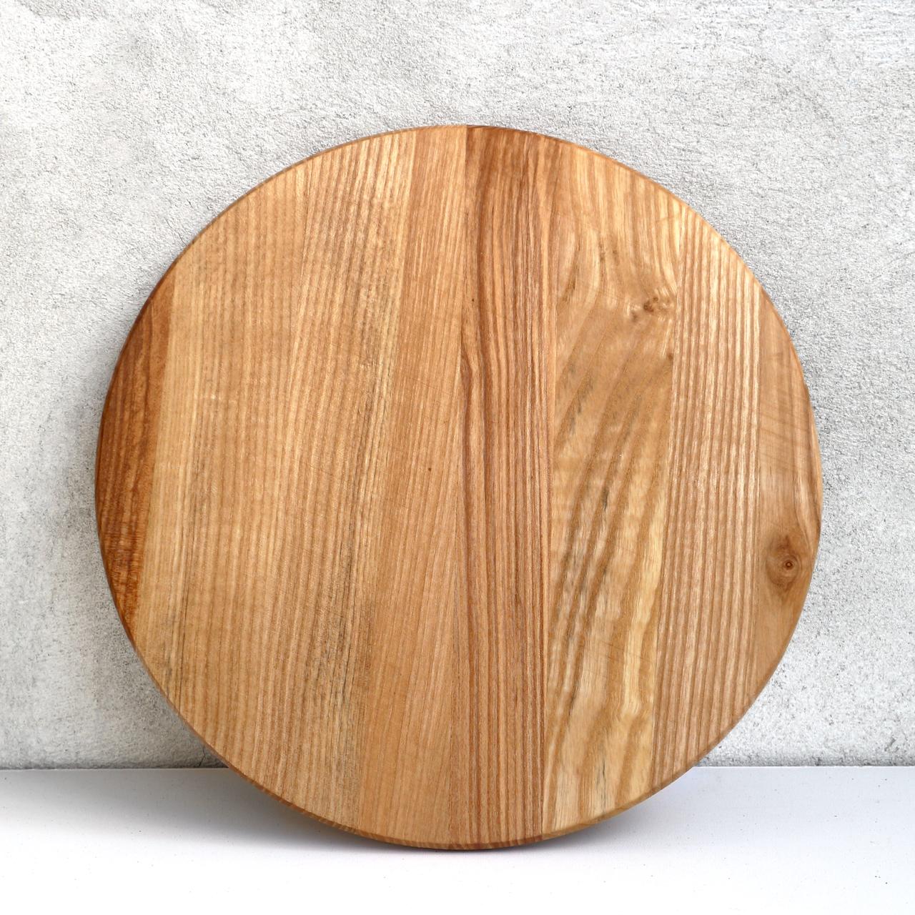 "Доска круглая для пиццы ""Уран"" Дуб Lasco 22 см диаметр"