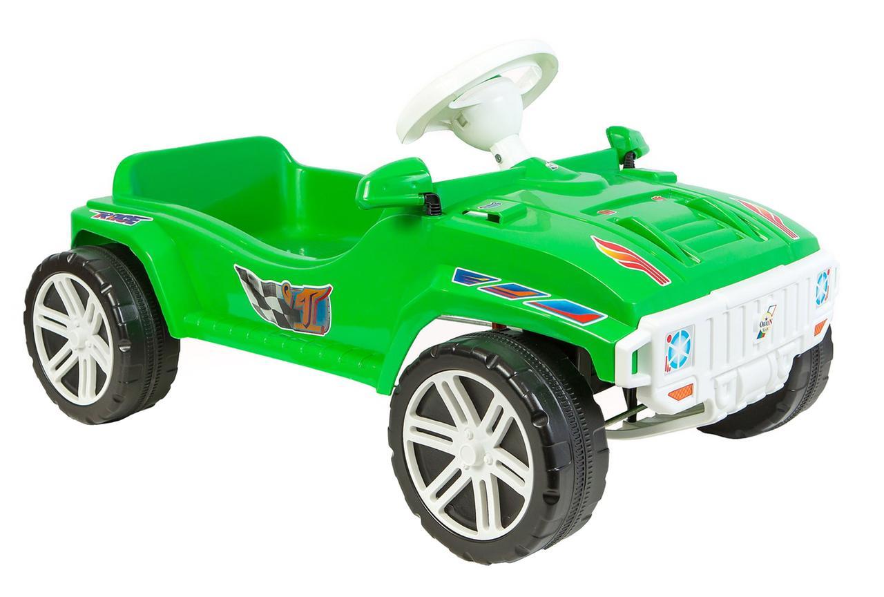 Детская педальная машина зеленая (792) Орион