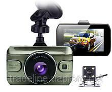 Видеорегистратор с двумя камерами DVR-601 - купить с доставкой по Киеву и Украине