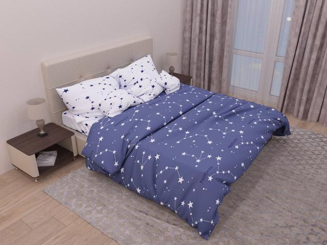 Двуспальное постельное белье САТИН 100% хлопок!!!