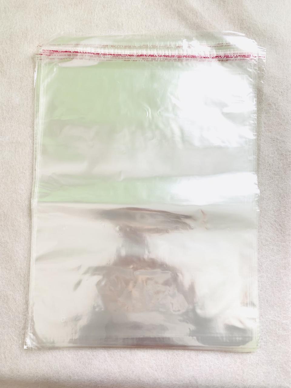 Пакеты полипропиленовые с клапаном 35*45 см 30 мкм 100 штук