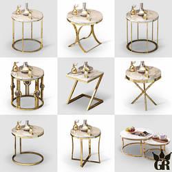 Кофейный столик Мрамор. Модель 2-454
