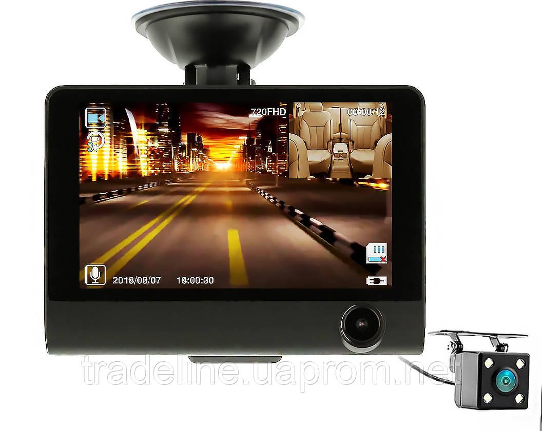 Видеорегистратор на 3 камеры CarDVR WDR 1080P (FULL HD) NEW model