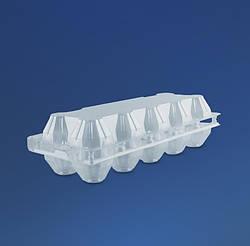 Пластиковая упаковка на 10 яиц ПС-3610