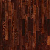 Паркетная доска Tarkett SALSA Ясень Коньяк Глянец 3-полосная (Планка 194x2283 мм, без фаски)