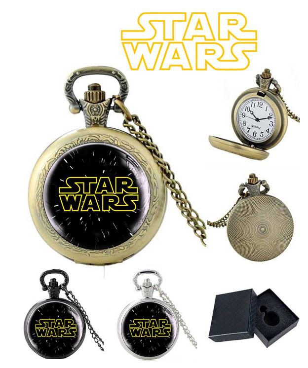 """Карманные часы Звездные войны """"???"""" / Star Wars"""