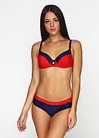 Женский раздельный купальник с красивым сочетанием цветов рр S, M, L, XL, XXL