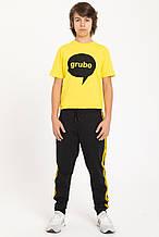Детские спортивные штаны для мальчика Young Reporter Польша 201-0117B-19-100-1-M Черный весеннии осенью
