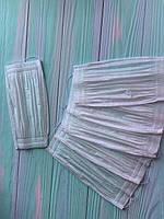 Маска от пыли для маникюра 4 слоя   (белая ) 50шт упаковка