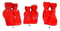 Травянчик керамический двойной красный, фото 1