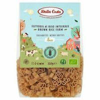Макароны из бурого риса без глютена Dalla Costa Италия, 250г
