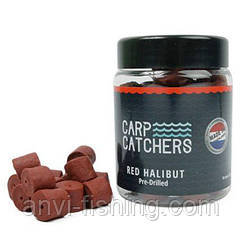 Пеллетс Carp Catchers «Red Halibut Hook Pre-Drilled» - 150 грамм диаметр 14 мм