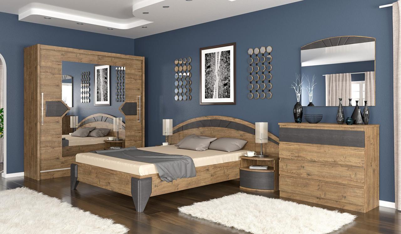 Спальня Аляска Мебель Сервис (Дуб апріл)