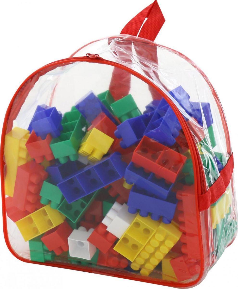 Конструктор пластиковый, 100 деталей Полесье (3314)