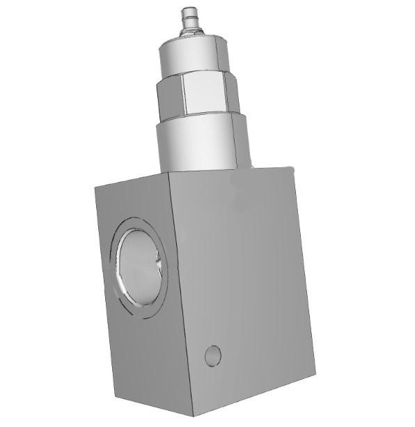 Двухлинейный регулятор расхода с обратным клапаном с ручным управлением Sun Hydraulics серии FDEA 95 л/мин