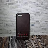 Чехол накладка для Xiaomi Redmi 6A коричневый  Fashion Case
