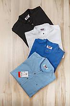 Рубашка со стойкой для мальчиков на 11-16 лет