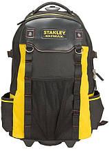 Тканевый рюкзак для инструментов Stanley FatMax черный на 45л