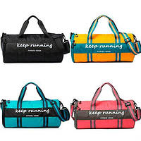 Сумка спортивная для тренировок спортзала бочонок сумка-тубус, цвета