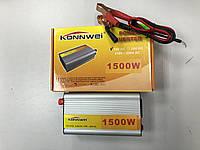 Автомобильный инвертор 12-220 1500W  Konnwei