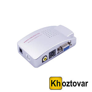 Конвертер AV в VGA для преобразования видеосигнала