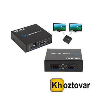 Разветвитель цифрового аудио-видео сигнала HDMI 1х2 | Коммутатор