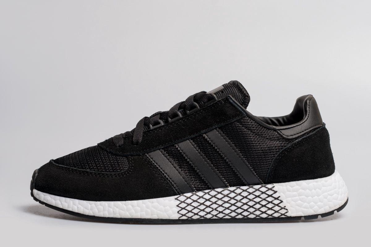"""Кроссовки Adidas Marathon Tech """"Черные"""""""