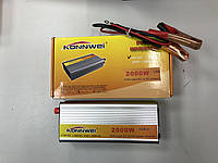 Автомобильный инвертор 12-220 2000W Konnwei