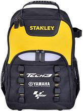 Тканевый рюкзак для инструментов Stanley Tech3 backpack  черный на 30л