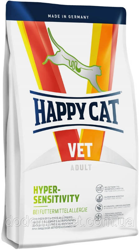 Дієтичний корм для кішок Happy Cat VET Diet Hypersensitivity Хепі Кет Вет Дієт 4 кг