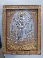 """Деревянная икона """"Пресвятая Богородица Спорительница хлебов"""""""