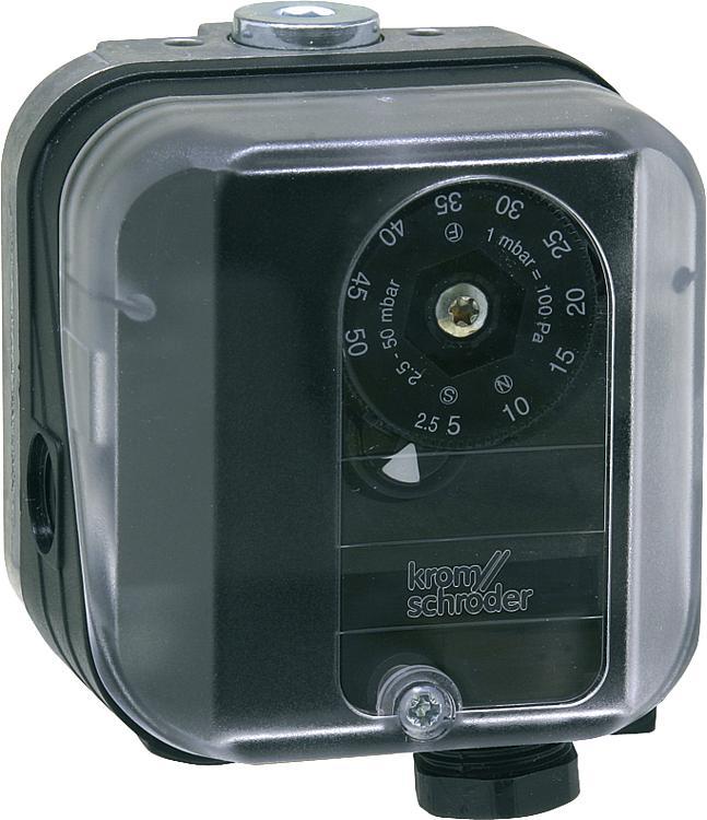 Датчик-реле давления газа DG 10U-3 Kromschroder (Honeywell), 1-10 mbar