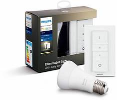 Умная светодиодная лампа Philips Hue White Bluetooth E27 с диммером (8718696785331)