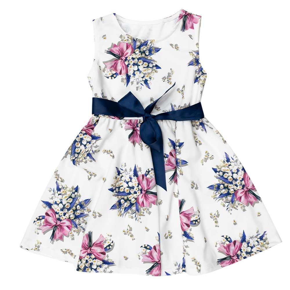 Сукня для дівчаток Dr moda 110 біле 2539