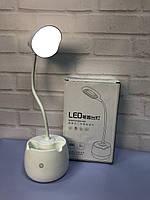 Портативная Компактная Яркая без проводная настольная Лампа с сенсорным управлением.