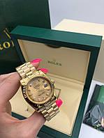 Часы R.. o.. l.. e.. x... Люкс ААА  Механизм - механика с автоподзаводом. Минеральное стекло. Золотые