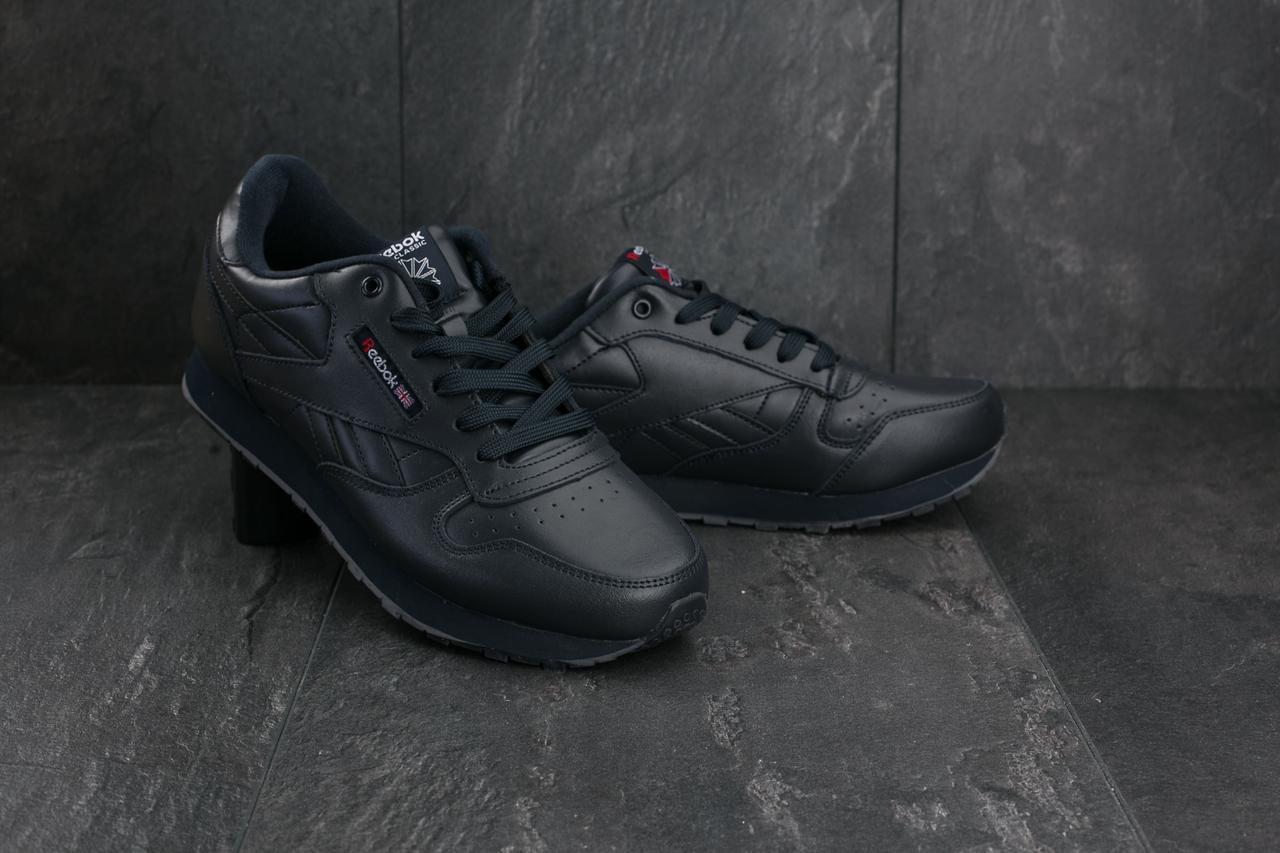 Мужские кроссовки искусственная кожа весна/осень синие Classica G 9168 -2