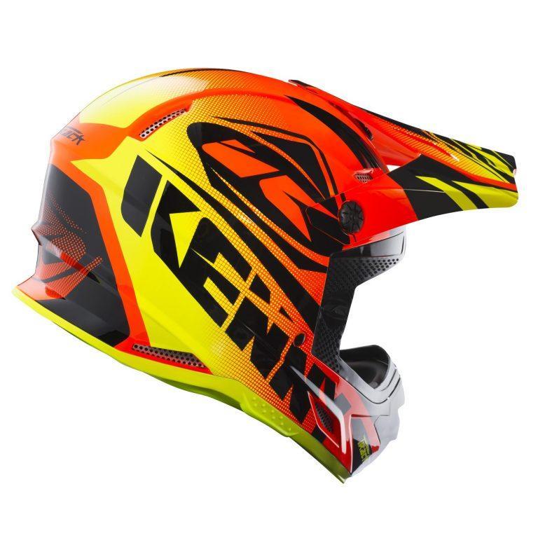 Шлем кроссовый Kenny Track 2018 Orange/Yellow