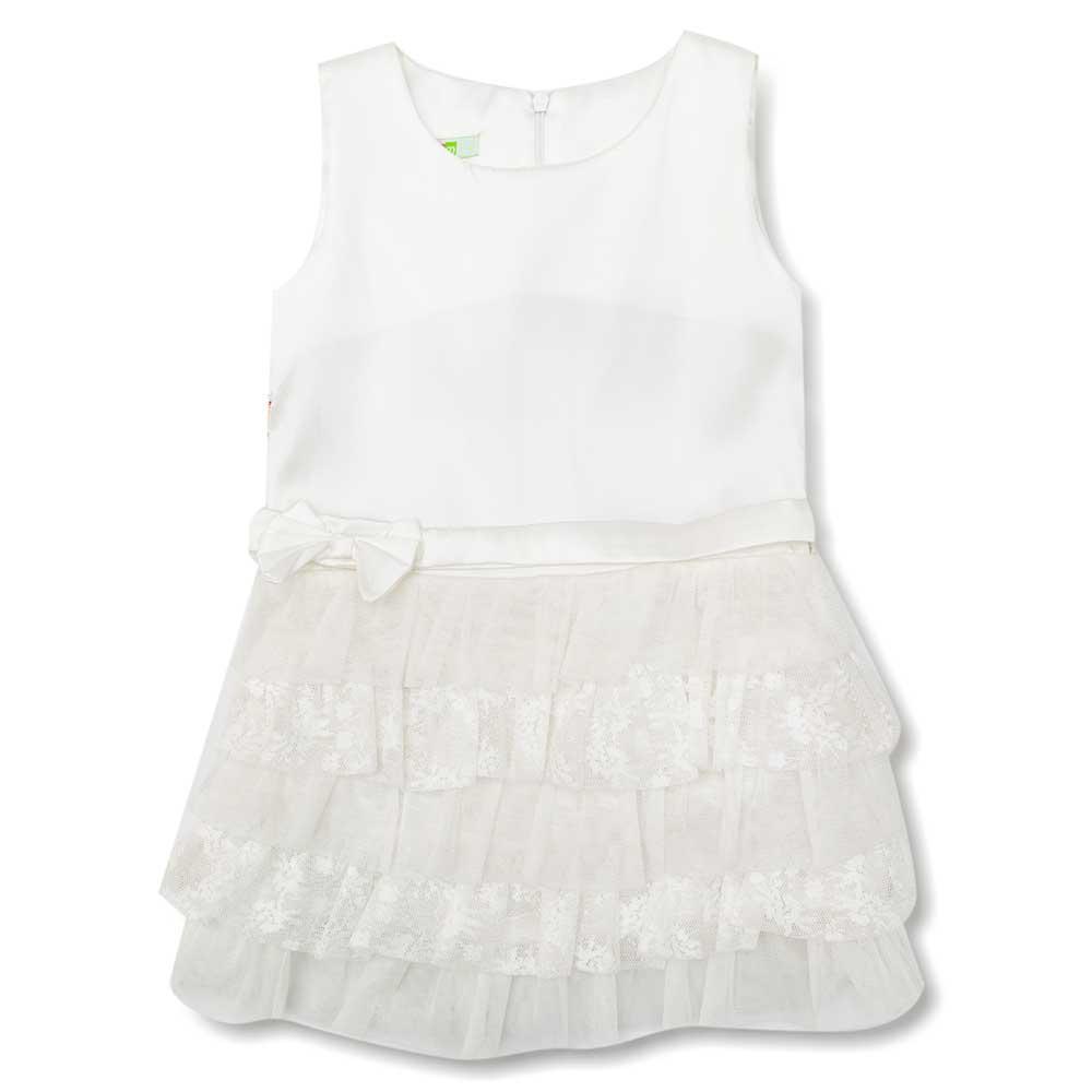 Платье для девочек Mudi 104  белое 13146