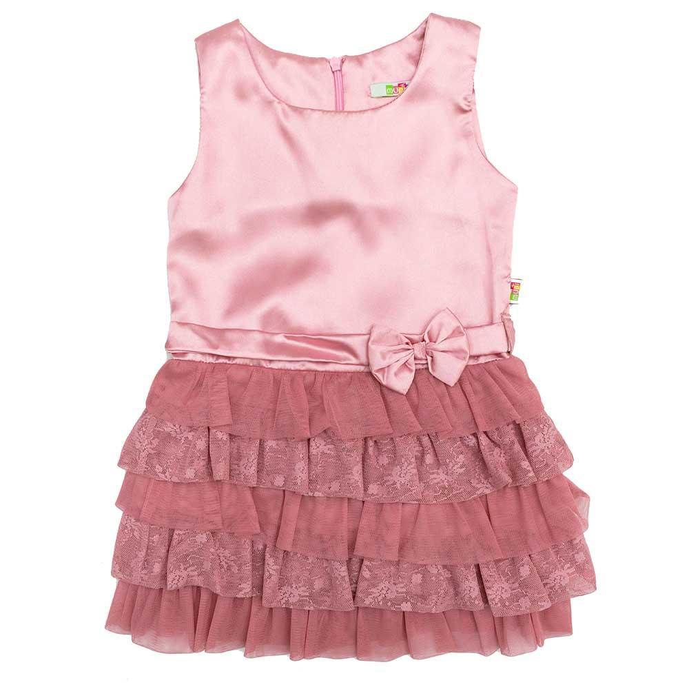 Сукня для дівчаток Mudi 104 рожеве 13146