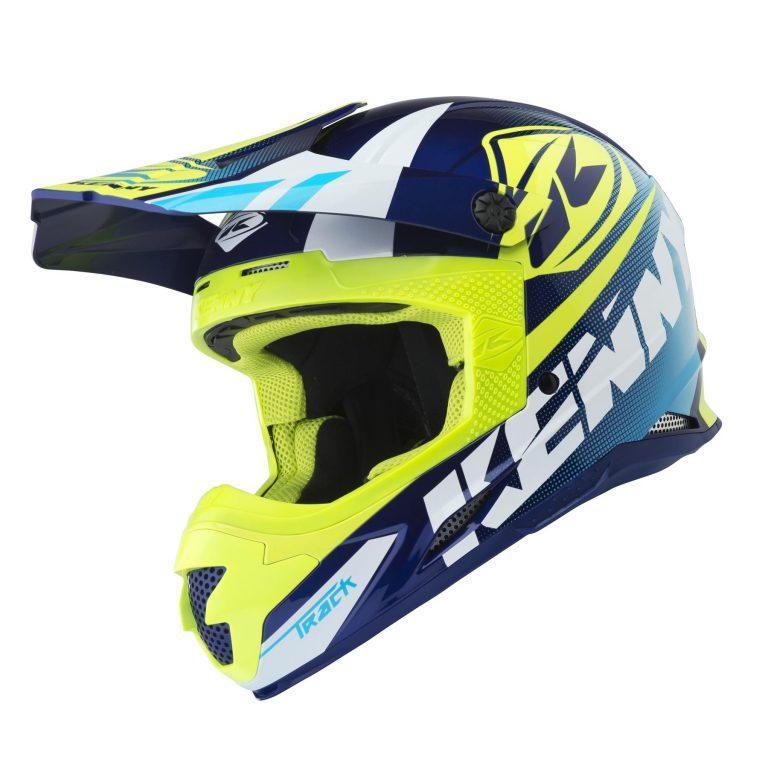 Шлем кроссовый Kenny Track 2018 Blue/Fluo