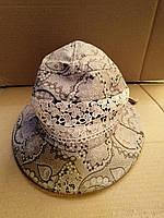 Женские летние шляпки. 100% штапель, фото 1