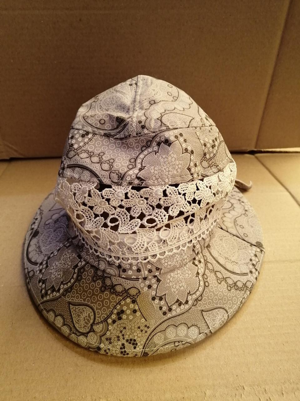 Женские летние шляпки. 100% штапель