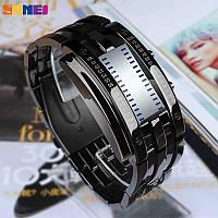 Skmei 0926 черные мужские оригинальные часы, фото 1