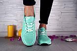 Женские кроссовки кожаные весна/осень зеленые Onward 222, фото 5