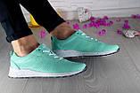Женские кроссовки кожаные весна/осень зеленые Onward 222, фото 6