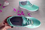 Женские кроссовки кожаные весна/осень зеленые Onward 222, фото 7