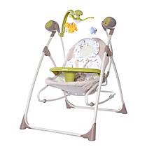 Музична колиска-гойдалка 3в1 CARRELLO Nanny CRL-0005 Brown Fox, мобіль, підвіски